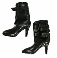 Viper Leather Coat - Boots (For Feet)