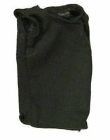 Viper Leather Coat - Black Sleeveless Shirt