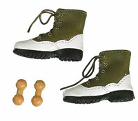 Evolution Female Clothing Set - Green Shoes w/ Ball Joints