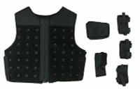 Bank Robbers: Criminal Crew - Vest w/ Velcro Pouches