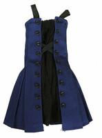 Fit & Flare - Blue & Black Dress