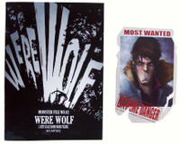 Monster Files: The Were Wolf - 1:1 Actual Comic Book w/ Card (Not 1:6 Scale)