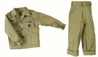 John Wayne: Pacific Marine - USMC Uniform w/ Rolled Up Cuffs