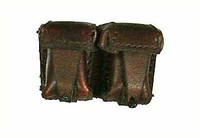 Soviet Female Sniper - Brown Leather Ammo Pouch