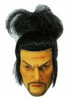 Miyamoto Musashi - Head w/ Rooted Hair (No Neck Joint)