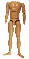 Wild Toys: MI6 Agent Paul - Nude Body w/ Hand Joints and Feet
