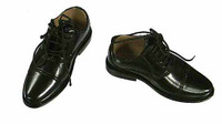 Wild Toys: MI6 Agent Paul - Black Patent Leather Shoes (For Feet)