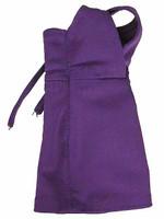 V Neck Sheath Dresses - Purple Dress