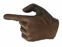 Knight Templar Crusader Brother - Left Pointing Hand