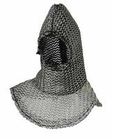 Knight Templar Banner Holder - Chainmail Hood (Plain)