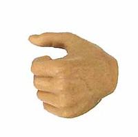 Roman Republic Lucius - Left Gripping Hand