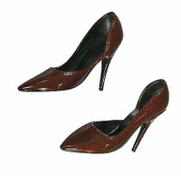 Monroe Dresses - Red High Heel Shoes