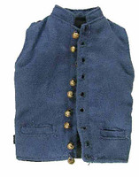 Major General George E Pickett - Blue Dress Vest (Real Working Metal Buttons)