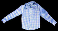 Lethal Weapon (Version B) - Blue and White Checkered Shirt