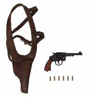 "2nd Armored Division ""Hell On Wheels"" Sgt. Donald (Regular Edition) - Revolver w/ Holster & Brass Bullets"