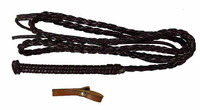 Lauren Begins - Leather Whip w/ Belt Loop