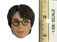 Harry Potter: Chamber of Secrets: Harry Potter & Draco Malfoy (Quidditch Version) - Harry Potter Head (No Neck Joint)