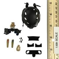 USSOCOM Navy Seal UDT - Helmet w/ Strobe Lights & Night Vision