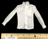 Spectre - Long Sleeve White Shirt