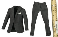 Spectre - Grey Suit w/ Pocket Handkerchief