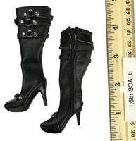 Female Agent Set - High Heeled Boots (For Feet)