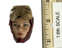 Iron Armor Girl - Head (No Neck Joint) (AS IS - See Note)
