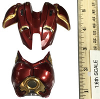 Iron Armor Girl - Upper Chest and Back Armor