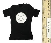 Nightmare Stalker - Black T - Shirt w/ Logo