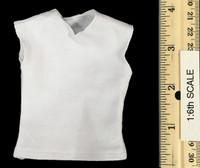 Gangster Kingdom: Neil - White Sleevless Shirt