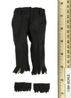 Monster Files: The Vampire - Tattered Black Pinstripe Dress Pants