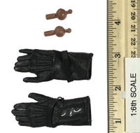 Heavy Armored Special Cop (v2.0) - Black Leather Gloved Hands (See Note)