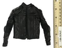 Heavy Armored Special Cop (v2.0) - Leather Jacket w/ Elbow Pads