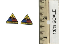 2nd Armored Division Military Police: Bryan - 2nd Armored Division Patches