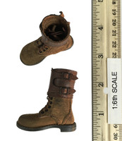 2nd Armored Division Military Police: Bryan - Lace Up Boots w/ Gaiters (For Feet)