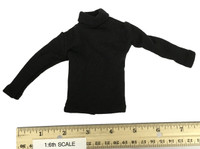 Wehrmacht Paratrooper Padded Winter Jacket Set - Black Turtleneck Sweater