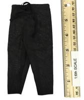 Xiu Chun Dao -  Black Loose Pants w/ Long String Belt