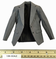The J Bank Robber - Grey Dress Jacket
