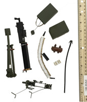Chinese Eighth Route Army Gunner - Water-Cooled Metal Machine Gun (M1917) w/ Accessories