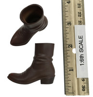 Sheriff Rick Accessory Set - Brown Boots (Ball Socket)