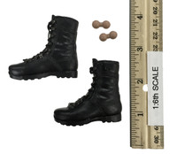 British Metropolitan Police Service - Lace Up Boots w/ Feet & Ball Joints