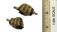 US Navy Seal Team Six K9 Halo Jumper - Gloved Hands