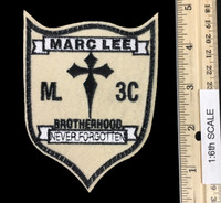 Seal Team 3 Charlie Platoon: Marc Lee Tribute - Tribute Patch (Full Size 1:1 Scale)