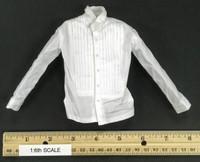 Spectre - White Tuxedo Shirt