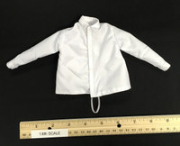 Alfred Hitchcock - Silk-Like Long Sleeve Shirt (White) (See Note)