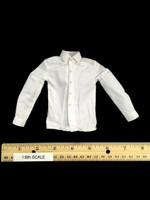 British Detective 2.0 - White Long Sleeve Shirt