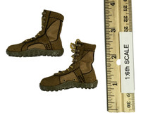 KSK Assaulter Kommando Spezialkrafte - Brown Lace Up Boots (For Feet)