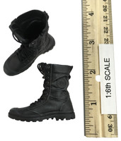 Soldier of Fortune 4 - Lace Up Black Boots (w/ Feet,No Ball Joints)