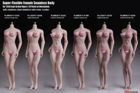 Super Flexible Female Seamless Body (PLMB2017-S23B) (Medium Bust - Suntan - Body Builder Physique) - Boxed Figure