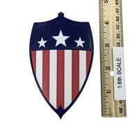 Cosplay American Female Action Hero - Vintage Shield