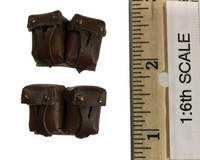 Soviet Red Army Infantry Equipment Set - Rifle (Mosin Nagant M91) Ammo Pouches